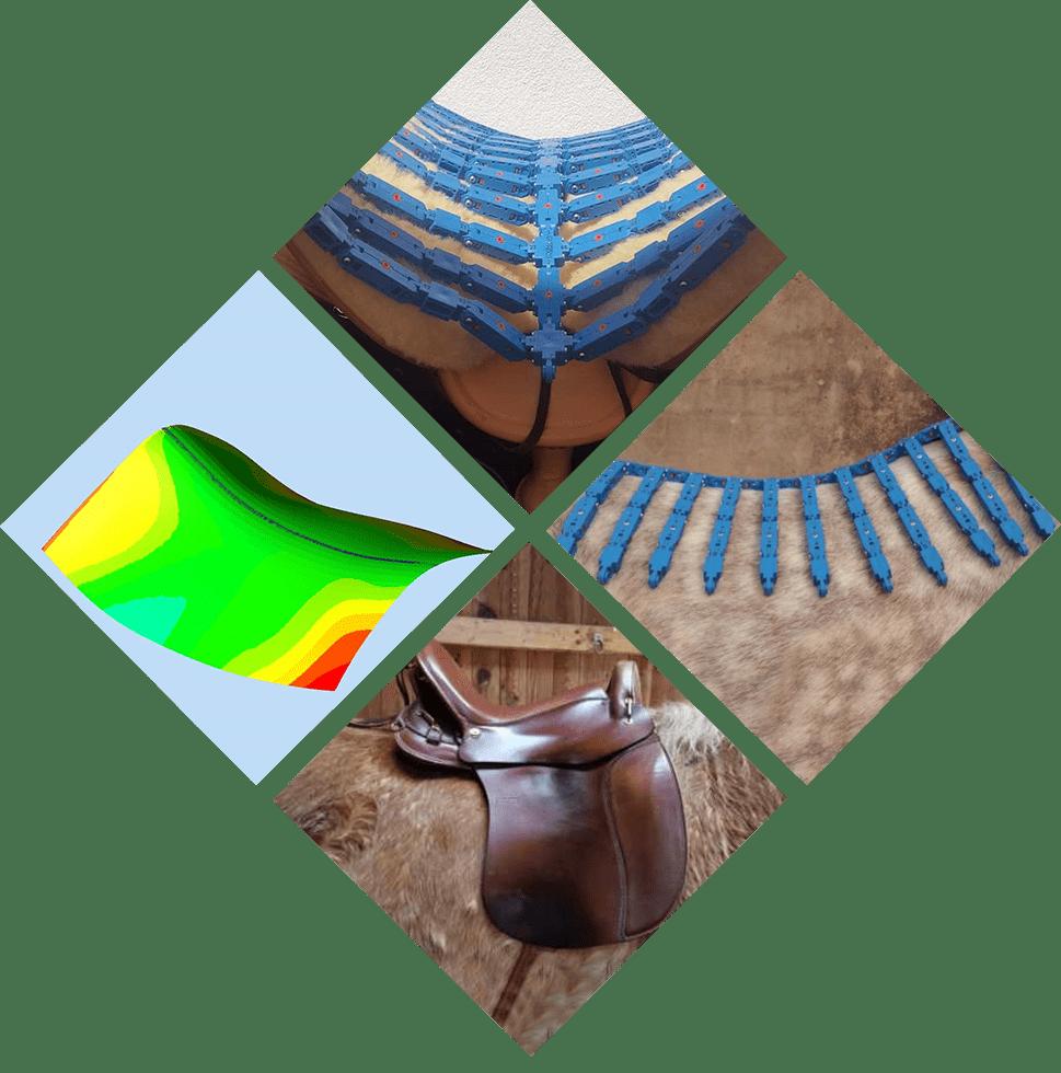 Pferdeverhalten-collage_sattel